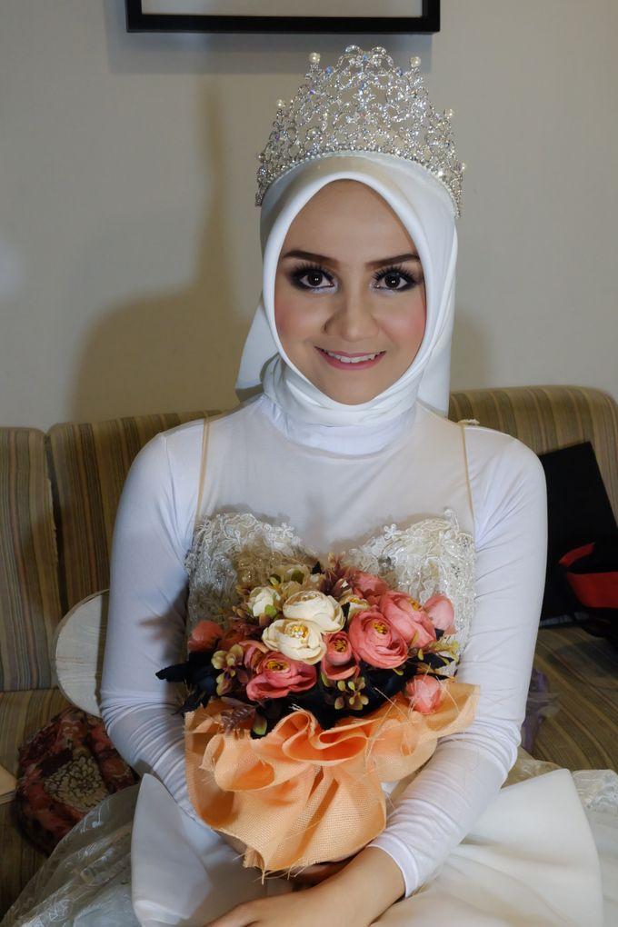 international wedding hijab by White Make Up and Hair Do - 005