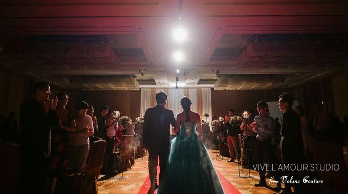 Eileen &  Zhang Fang Actual Wedding Day by Majella's Studios - 025