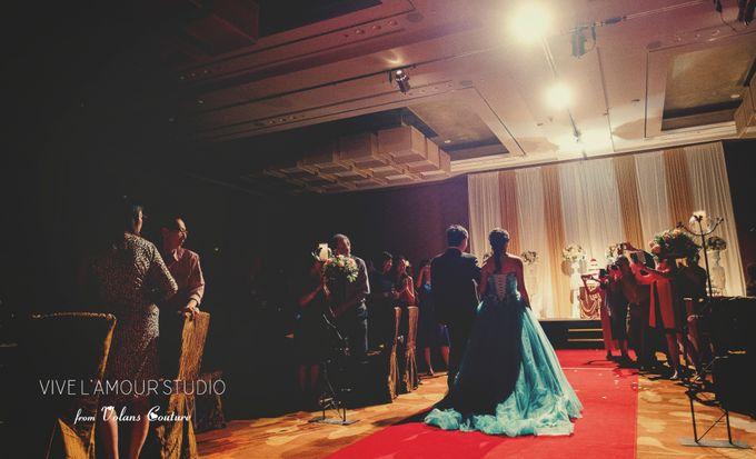 Eileen &  Zhang Fang Actual Wedding Day by Majella's Studios - 026
