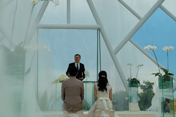 Diamond Chappel Bali - Michael & Intan Wedding by Impressions Wedding Organizer - 007