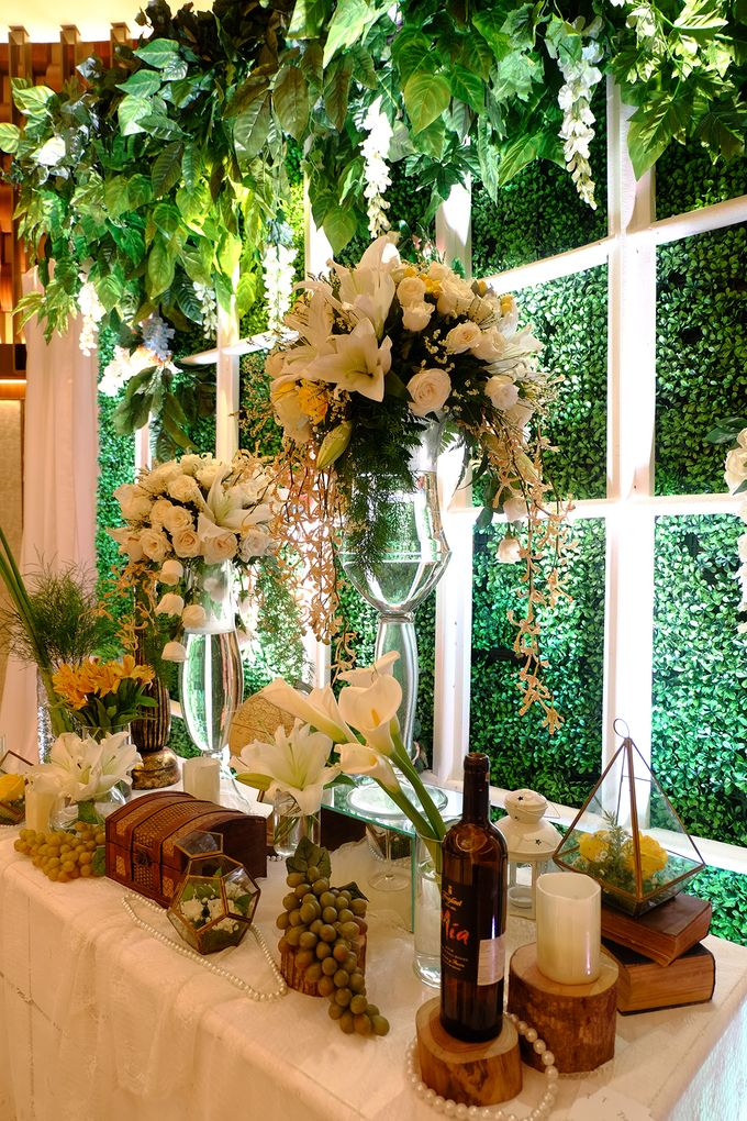 The Wedding of David and Dewi - Ayana Midplaza Jakarta by The Swan Decoration - 008