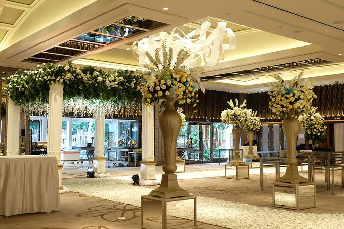 The Wedding of David and Dewi - Ayana Midplaza Jakarta by The Swan Decoration - 013
