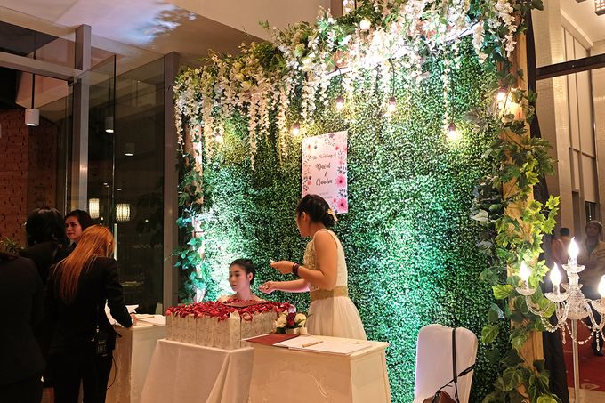 The Wedding of David & Claudia 0 Double Tree by Hilton Open Restaurant by The Swan Decoration - 009