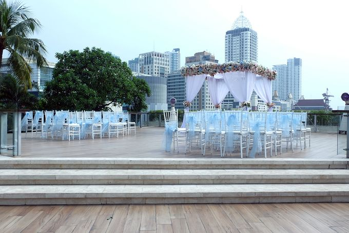 The Wedding of Marshal & Maya - Grand Hyatt on Five by The Swan Decoration - 001