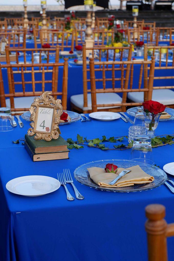 Wedding & Dinner of Michael and Yulia by The Royal Santrian Luxury Beach Villa - 004