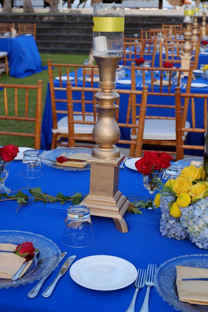 Wedding & Dinner of Michael and Yulia by The Royal Santrian Luxury Beach Villa - 006