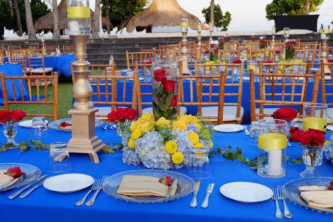 Wedding & Dinner of Michael and Yulia by The Royal Santrian Luxury Beach Villa - 007
