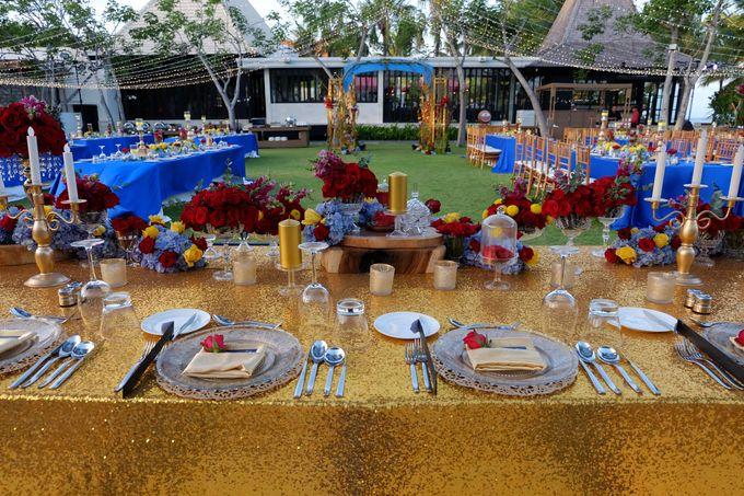 Wedding & Dinner of Michael and Yulia by The Royal Santrian Luxury Beach Villa - 008