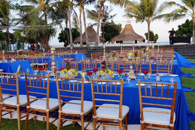 Wedding & Dinner of Michael and Yulia by The Royal Santrian Luxury Beach Villa - 012