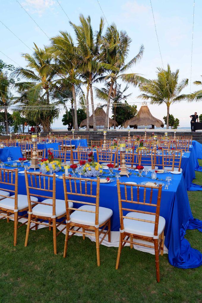 Wedding & Dinner of Michael and Yulia by The Royal Santrian Luxury Beach Villa - 001