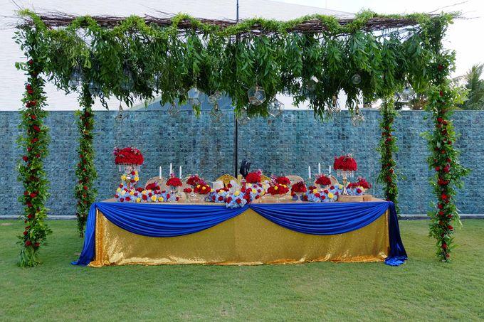 Wedding & Dinner of Michael and Yulia by The Royal Santrian Luxury Beach Villa - 014