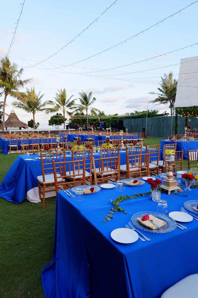 Wedding & Dinner of Michael and Yulia by The Royal Santrian Luxury Beach Villa - 015
