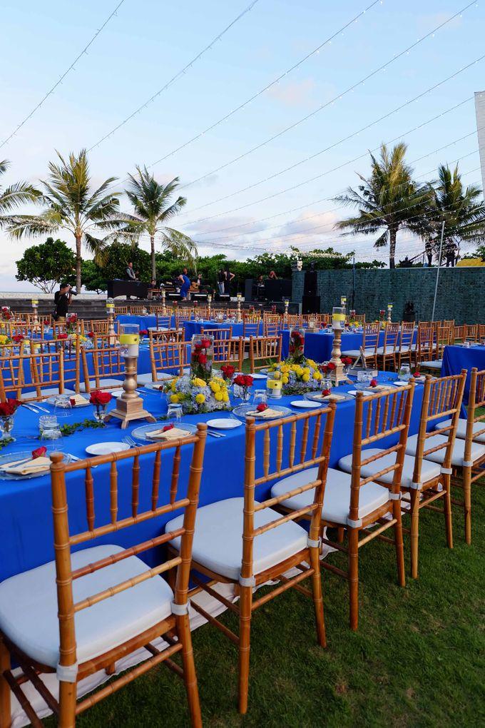 Wedding & Dinner of Michael and Yulia by The Royal Santrian Luxury Beach Villa - 017