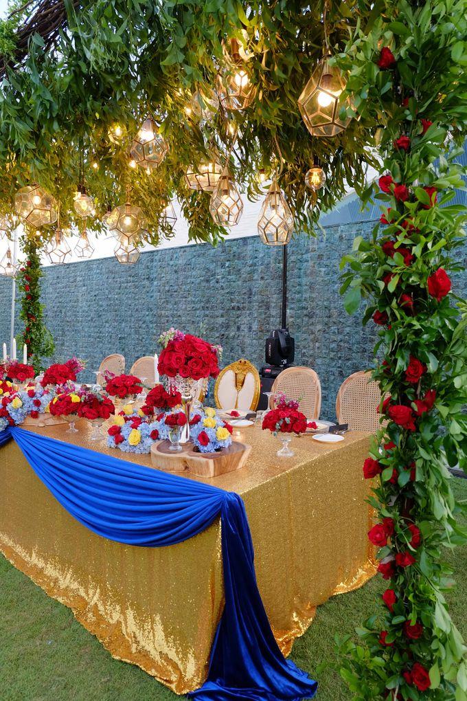Wedding & Dinner of Michael and Yulia by The Royal Santrian Luxury Beach Villa - 018