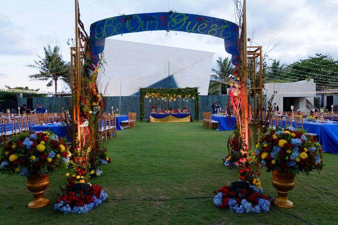 Wedding & Dinner of Michael and Yulia by The Royal Santrian Luxury Beach Villa - 019