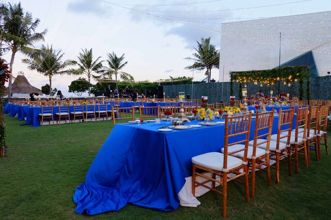 Wedding & Dinner of Michael and Yulia by The Royal Santrian Luxury Beach Villa - 021