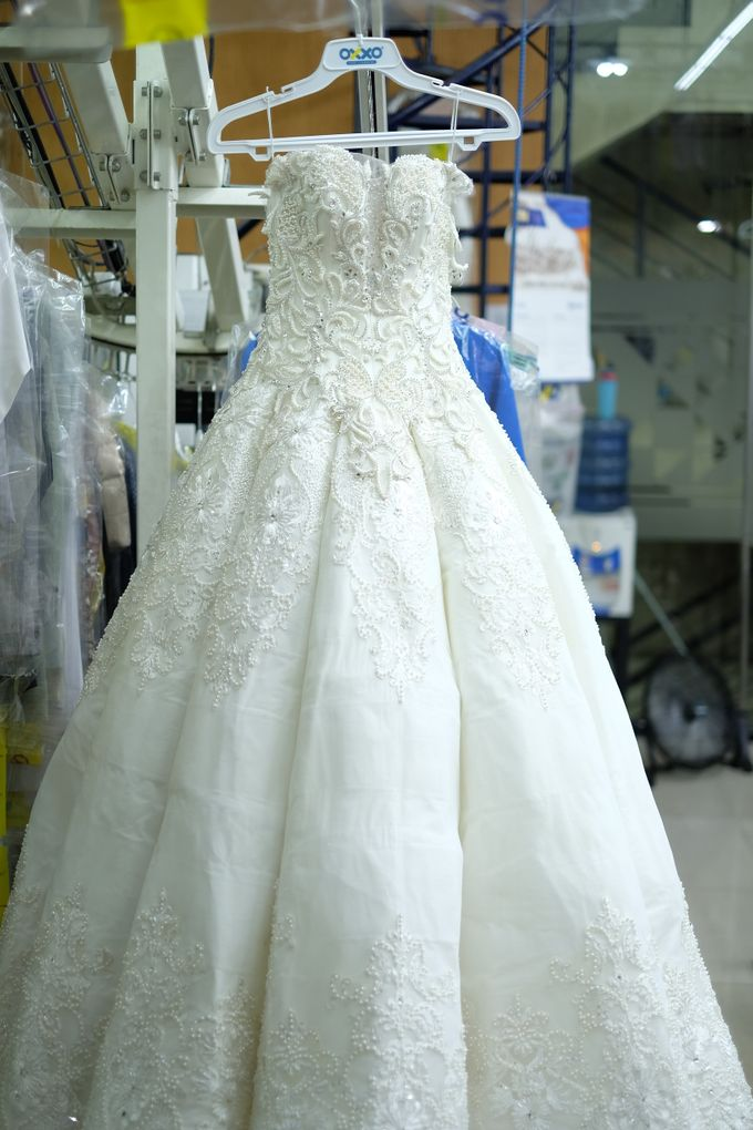 Wedding Dress Dry Cleaning by OXXO Care Cleaners - eco friendly dry ...