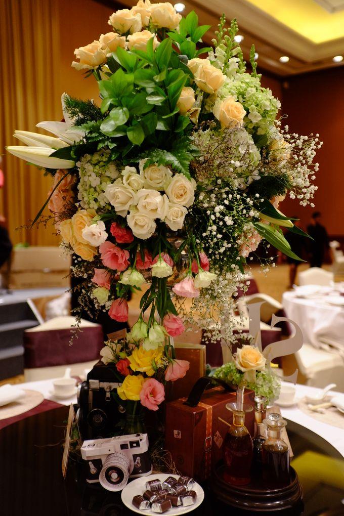 Vintage Elegant Wedding by Fuchsia Decoration - 001