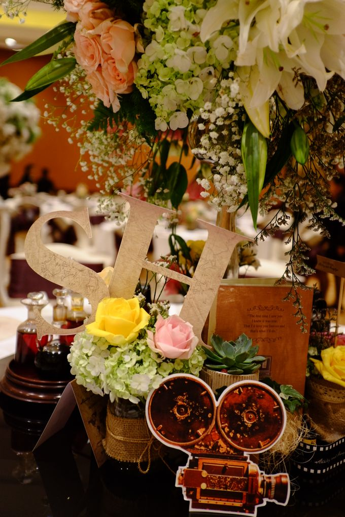 Vintage Elegant Wedding by Fuchsia Decoration - 002