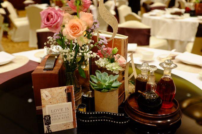Vintage Elegant Wedding by Fuchsia Decoration - 004