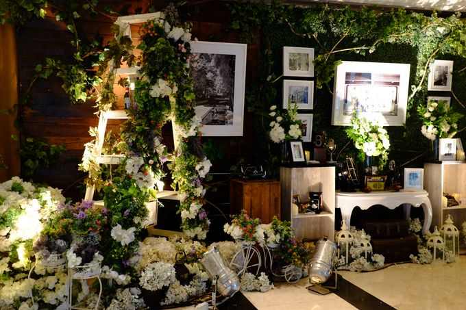 Vintage Elegant Wedding by Fuchsia Decoration - 005