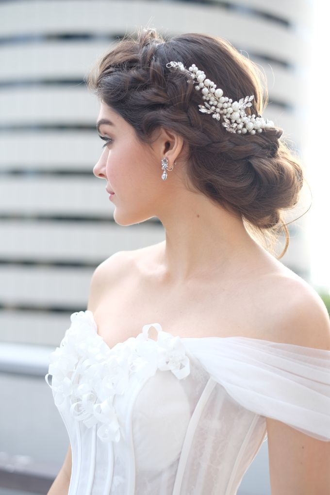 Bride Fashion shoot by Cocoon makeup and hair - 006