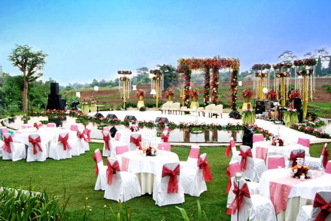 Wedding at On Green by Raffles Hills Cibubur - On Green Garden Venue - 001