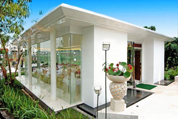 Wedding at On Green by Raffles Hills Cibubur - On Green Garden Venue - 005