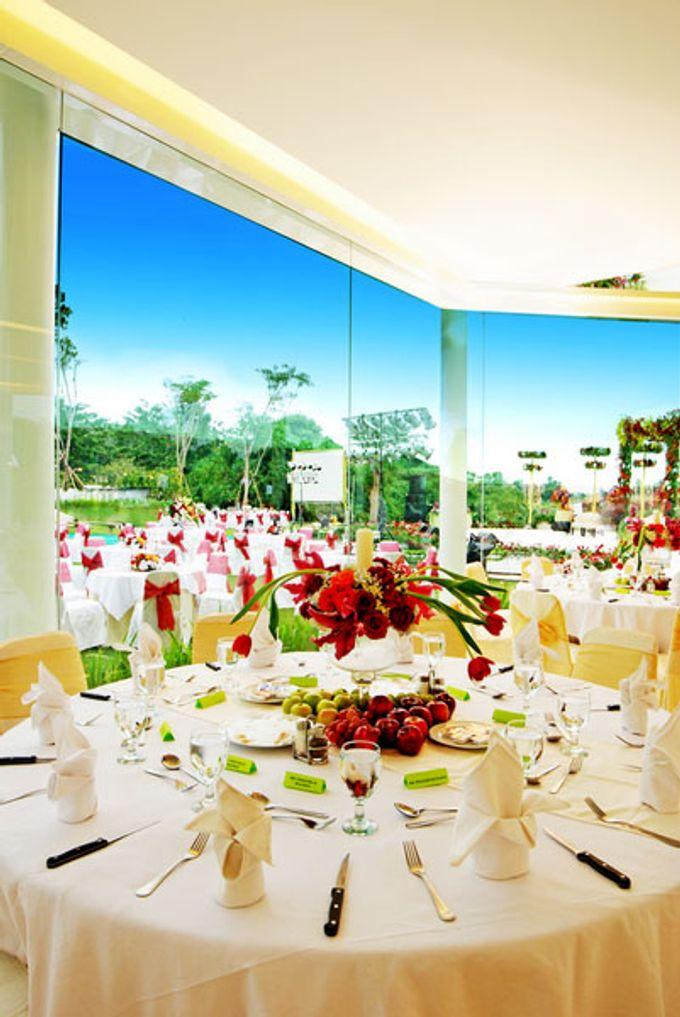 Wedding at On Green by Raffles Hills Cibubur - On Green Garden Venue - 006