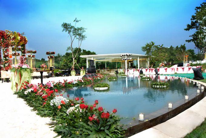 Wedding at On Green by Raffles Hills Cibubur - On Green Garden Venue - 004