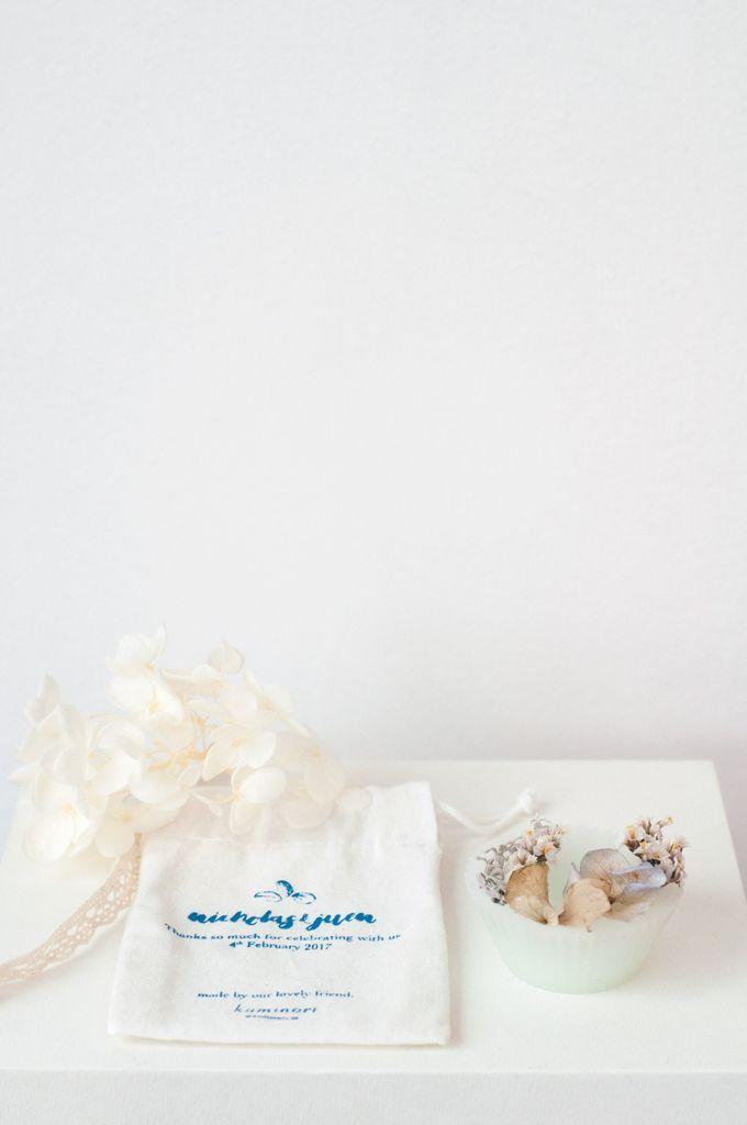 Wax Tart | Arrangement Style | Custom Calico Pouch by Kaminari - 007