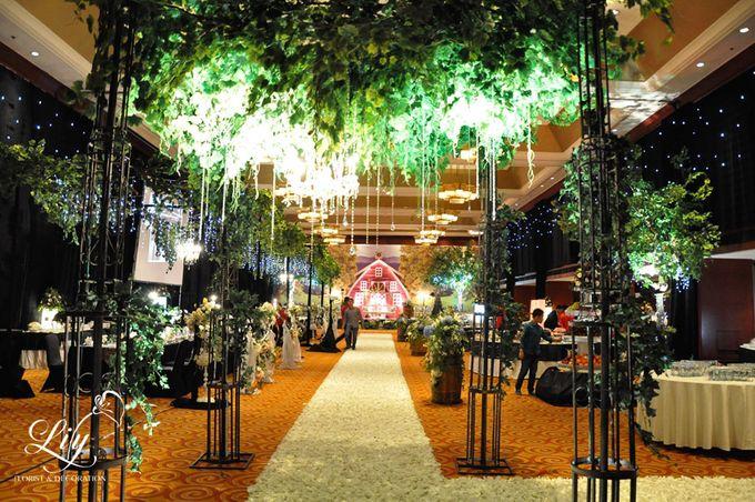 Classic village theme decor by Lily Florist & Decoration - 010