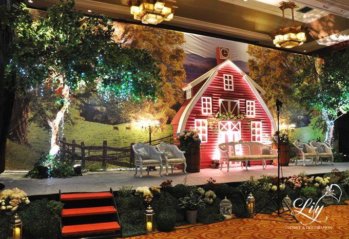 Classic village theme decor by Lily Florist & Decoration - 002