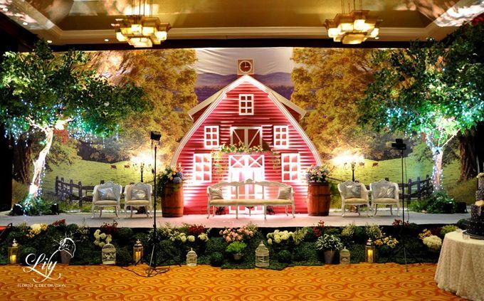Classic village theme decor by Lily Florist & Decoration - 001