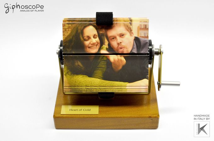 Wedding Giphoscope n 7 - Heart of Gold by The Giphoscope - 001