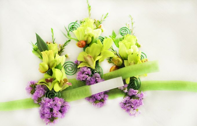 Wedding1 by Dave and Khey Floral Arrangement - 006