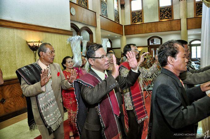 Wedding Batak by ARJUNO MOMENT HOUSE - 012