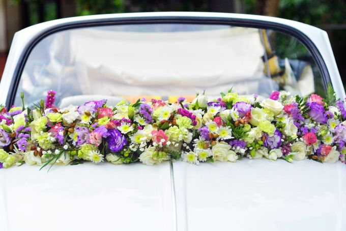 Bridal Car by Dave and Khey Floral Arrangement - 004