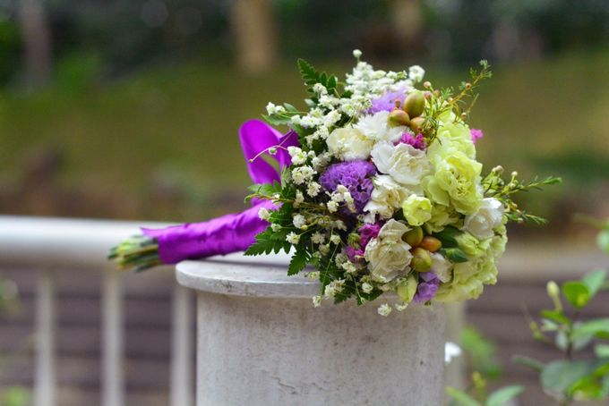 Wedding1 by Dave and Khey Floral Arrangement - 002