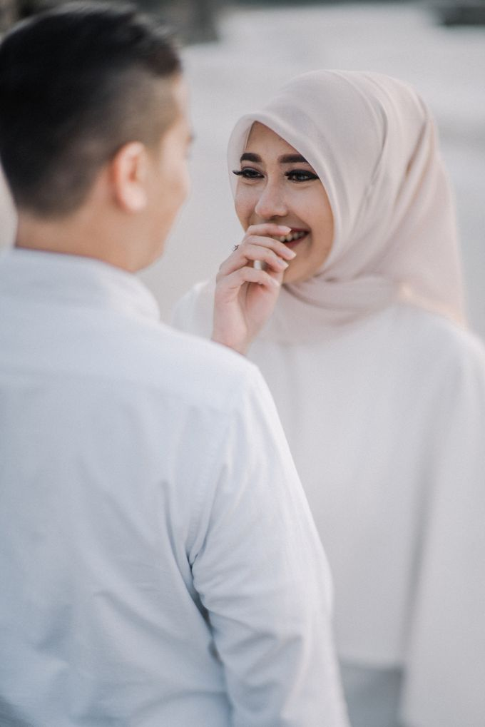 The Prewedding of Nurul & Adam by Kimi and Smith Pictures - 004