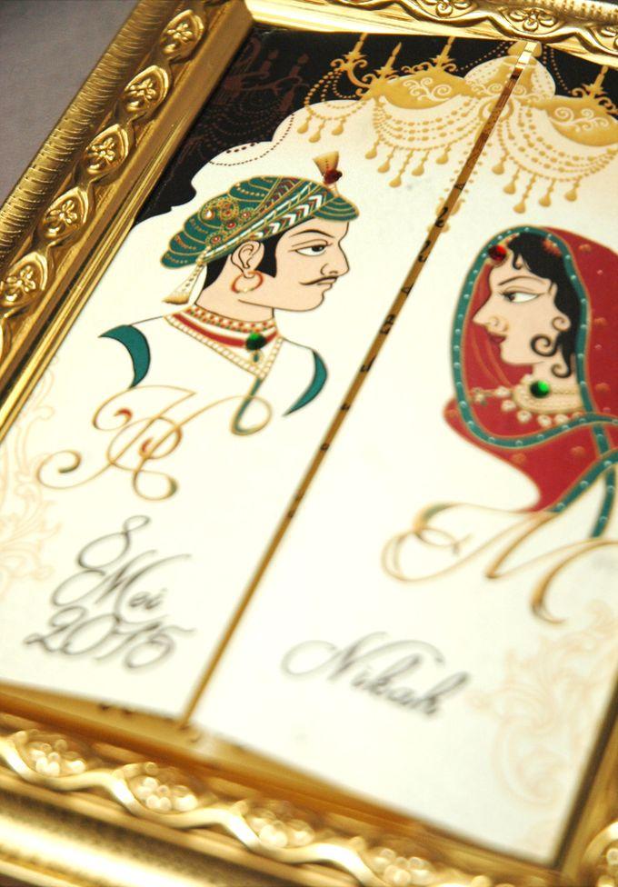 Haris & Maleka Invitation by Fancy Boon - 005