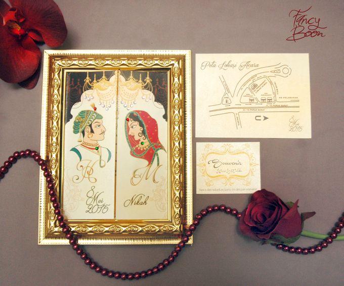 Haris & Maleka Invitation by Fancy Boon - 001