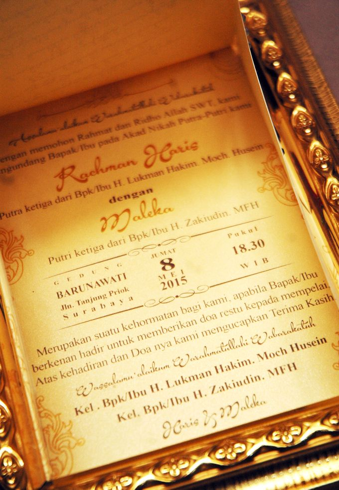 Haris & Maleka Invitation by Fancy Boon - 004