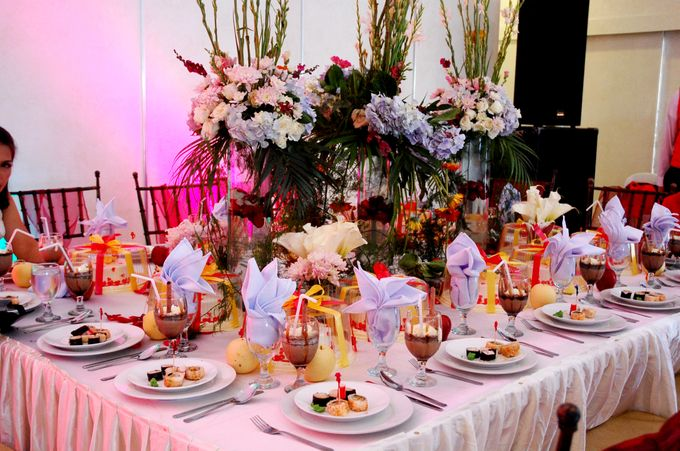 Wedding by Event Styling by Fleur Architect - 003