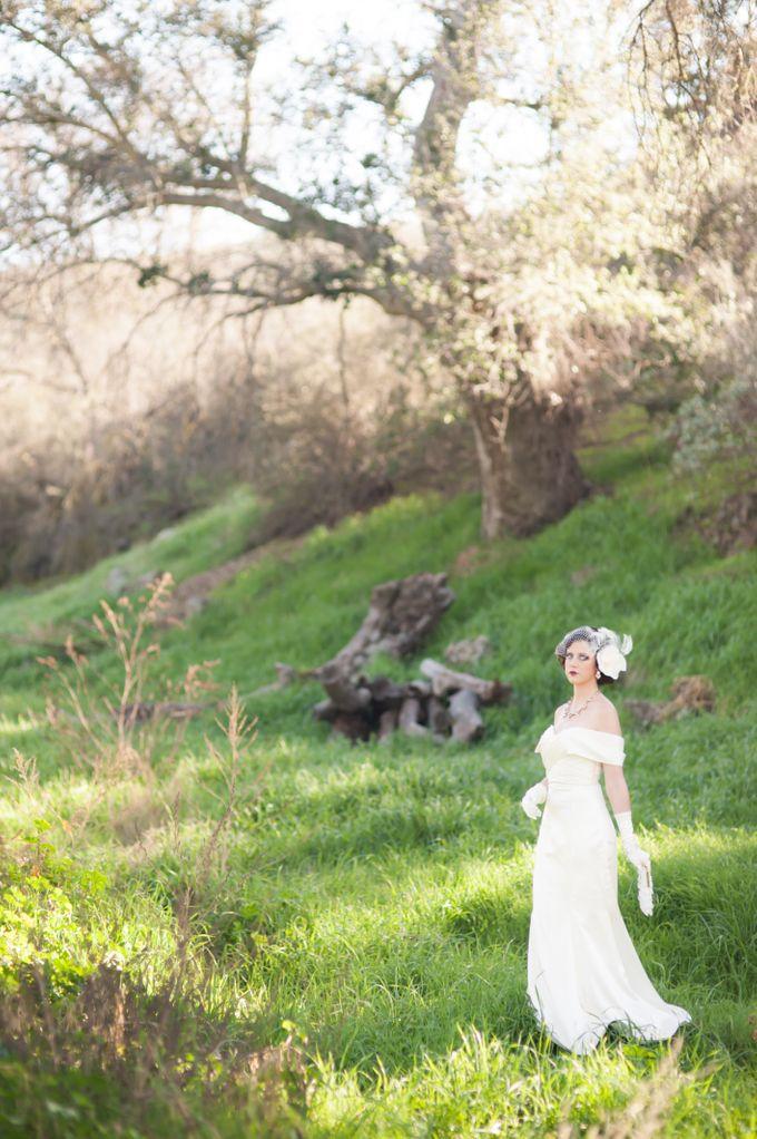Great Gatsby Wedding Inspiration by Mark Martinez Photography - 023