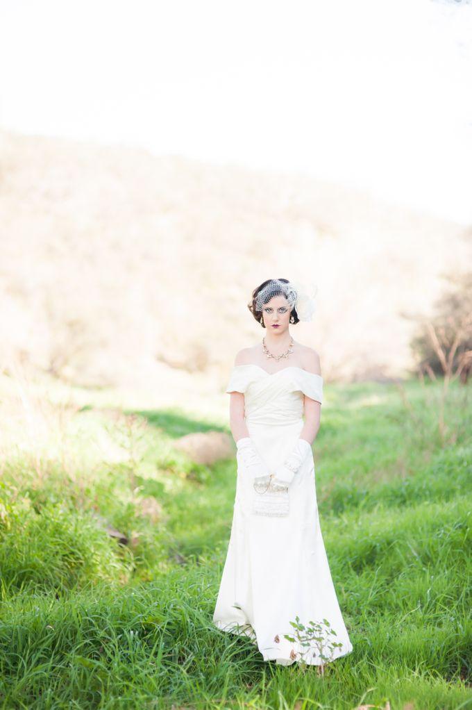Great Gatsby Wedding Inspiration by Mark Martinez Photography - 025