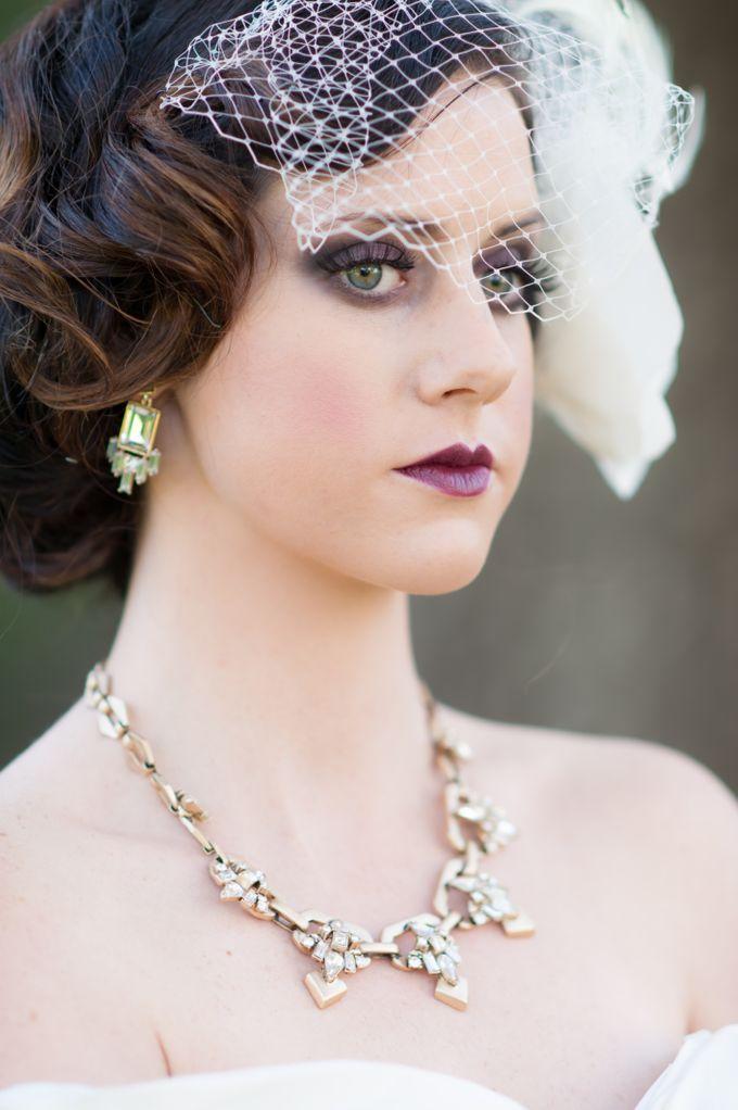 Great Gatsby Wedding Inspiration by Mark Martinez Photography - 018