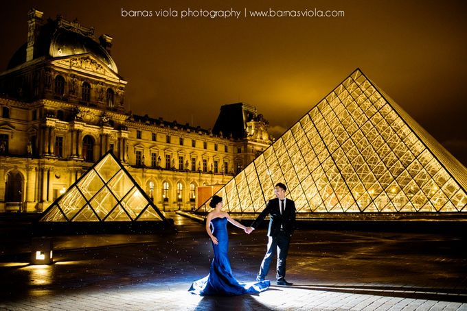 Paris Engagement Session by Barnas Viola Photography - 001