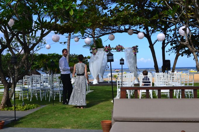 WEDDING OF ALEX & NAOMI by Fairmont Sanur Beach Bali - 001