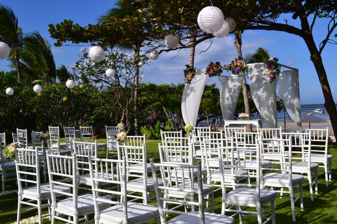 WEDDING OF ALEX & NAOMI by Fairmont Sanur Beach Bali - 002